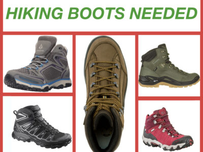 BOOTS NEEDED: Literally Support a Climber